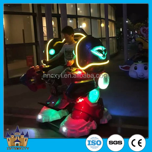 Small business opportunities battery operated toy walking robot amusement park games for sale