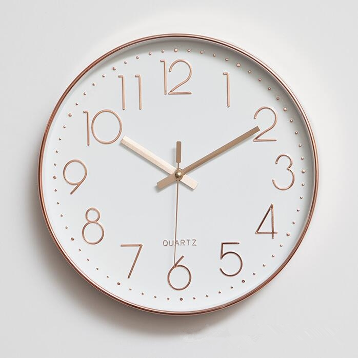 Wall Decor Clocks Modern : Bq modern minimalist clock themes quartz mute