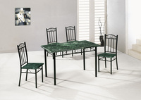 green marble top dining table and charis dining room sets for sale