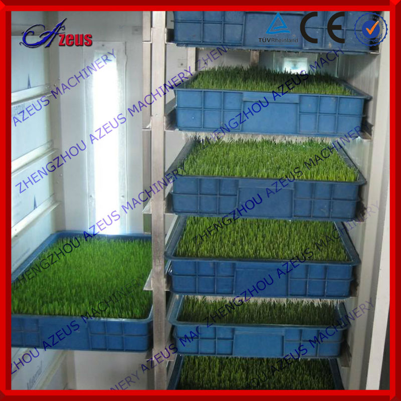 2016 Easy to operate hydroponic animal feeding machine