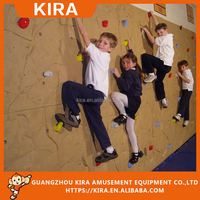2016 Interactive Kids Games Ropes Obstacle Course with Climbing Wall Equipment
