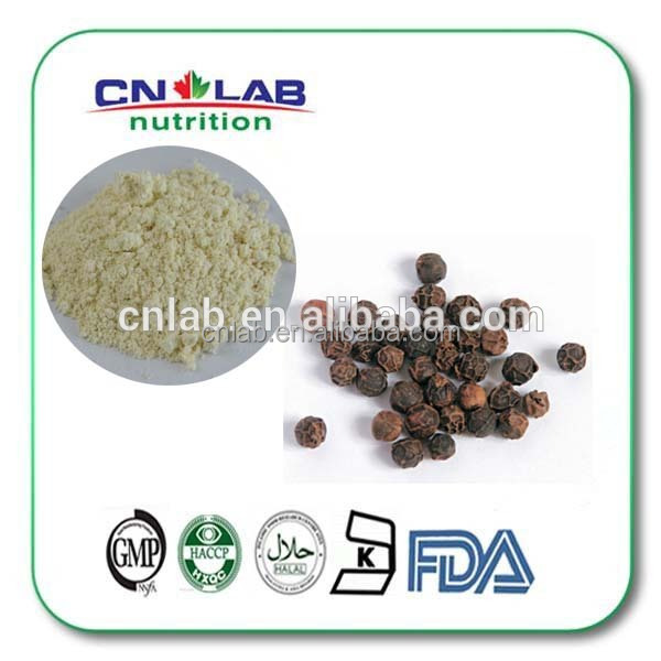 Black pepper extract, piperine extract, pure piperine 95%