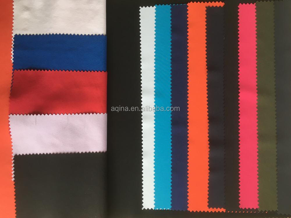 polyester spandex fabric bonded fleece,elastic fabric