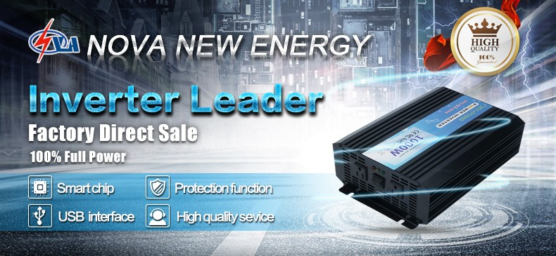 1000w off grid dc to ac pure sine wave power inverter
