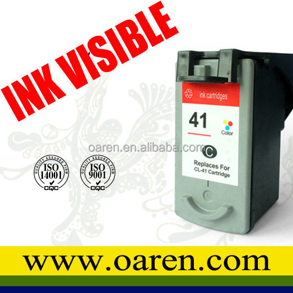compatible ink cartridge cl41 color chip reset for Canon CL-41 pixma ip1880 print cartridges