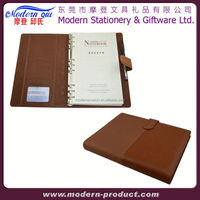 leather pocket memo book cover