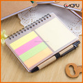 stationary manfacturer custom PVC/plastic material cover spiral notebook for gift and promotion