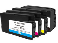 Refillable printer Inkjet Cartridge for HP951XL with printers HP Officejet Pro 8100/8600