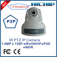 High Quality PTZ Indoor POE CCTV Camera, Onvif P2P IP Camera Day/Night
