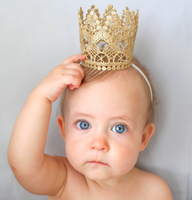 Hot sell wholesale super cute baby birthday crown