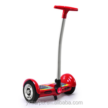 10inch electric balance scooter with handlebar, cheap e-scooter, e skateboard