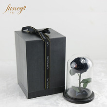 2017 Yunnan Grade A Preserved Black Roses Flowers in Glass Tube
