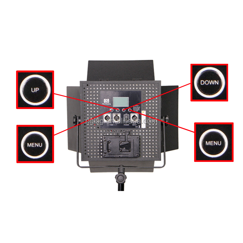 Nanguang 36W CN-600DS DMX studio LED Light with professional LCD Screen for studio Ra 95