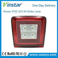 NEW car flashing led brake light 370Z LED 4th Brake Lamp (Red+clerar)