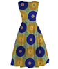 wholesale womens african ankara dresses kente print clothes