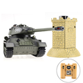 China wholesale T 34 rc army tanks with simulated sound and light
