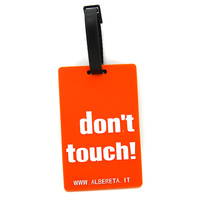 hot novelty items 2017 promotional funny custom soft pvc luggage tags