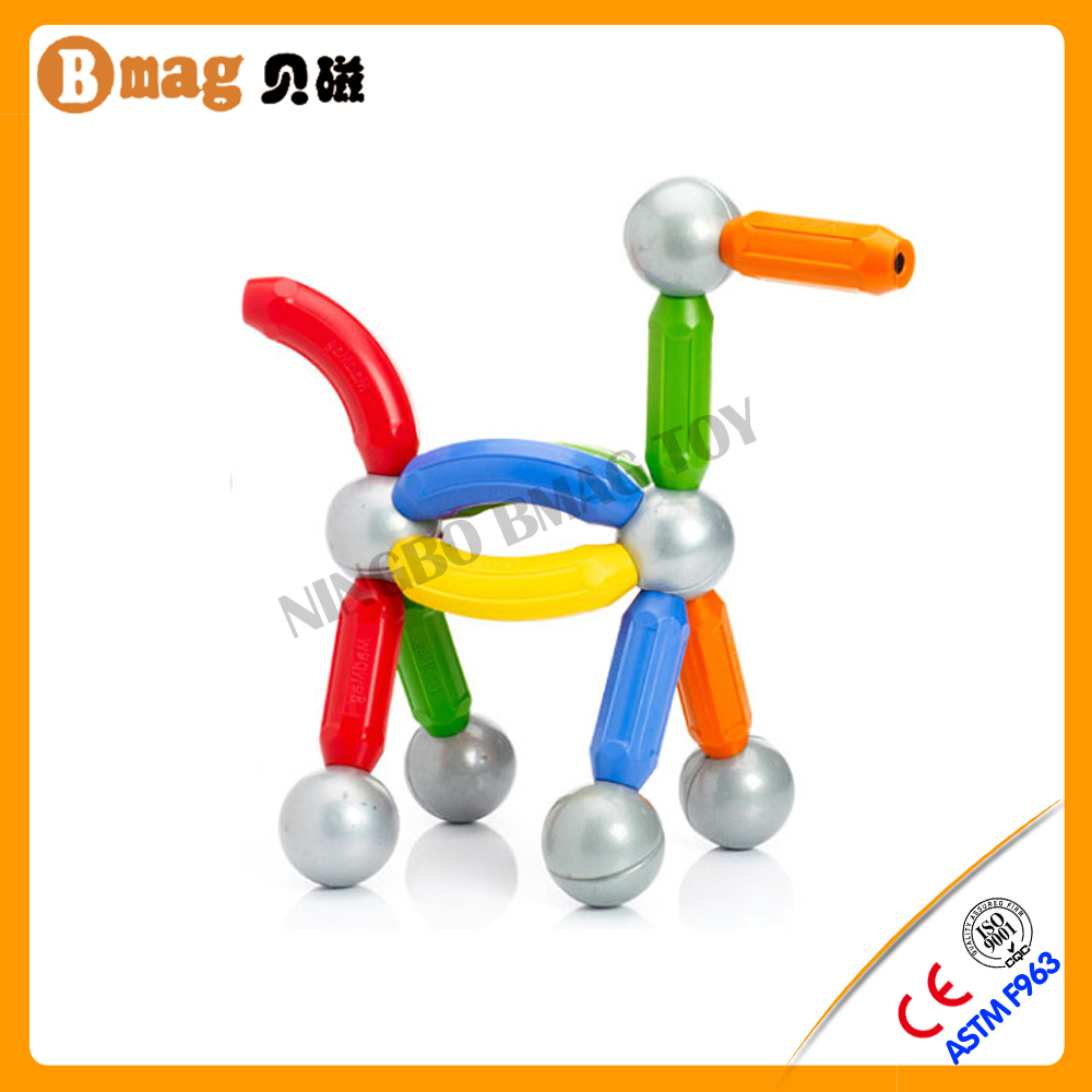 Welcome OEM colorful magnetic balls and rods