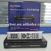 Az fox S2S,DVB-S2 +PATCH(Nagravision 2.0)+Multicas+USB PVR+HDMI 1080P Full HD / Support Dongle (IBOX/PC30/PC40 etc.)+LED Display