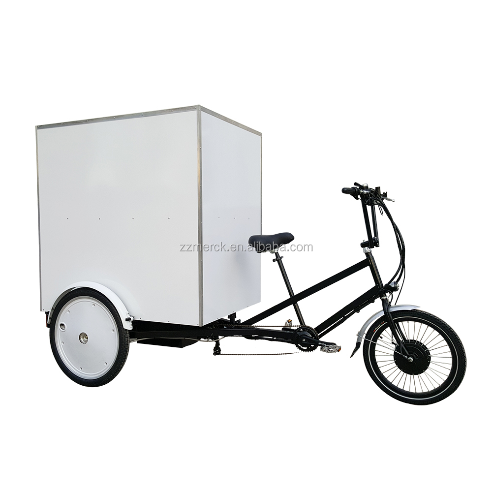 Urban Utility Motorcycle Tricycle Truck, Heavy-duty Cargo Capacity 3 Wheel Human And Electric Powered Truck Trike