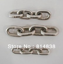 6mm Stainless steel chain / Rantai 1 meter
