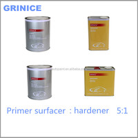 Quality chemical primer surfacer concrete auto paint 2K hardener