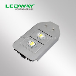 LED street lamp Guangzhou LEDWAY 120W street light 5 years warranty IP67 CE SAA approved 10800lm MAENWELL MOSO LED driver