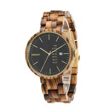 2017 new fashion OEM unisex band wooden watch