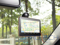 7 inch hd1080p LCD Screen Car GPS DVR with AV-IN Support Parking system Reverse Camera,Bluetooth, Wi Fi gps navigator