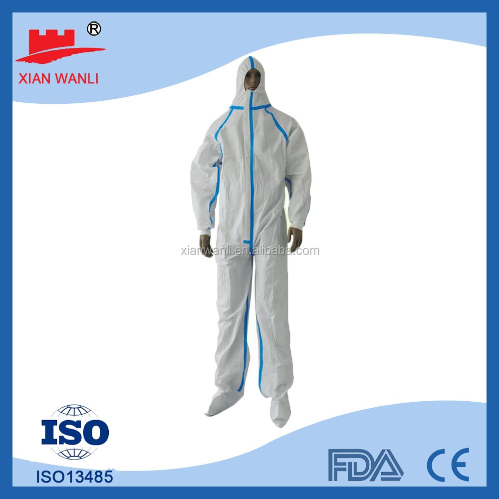 Cheap microporous type5&6 with reflective tape waterproof work winter coveralls