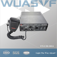 100W 6 tones electronic siren for ambulance police car