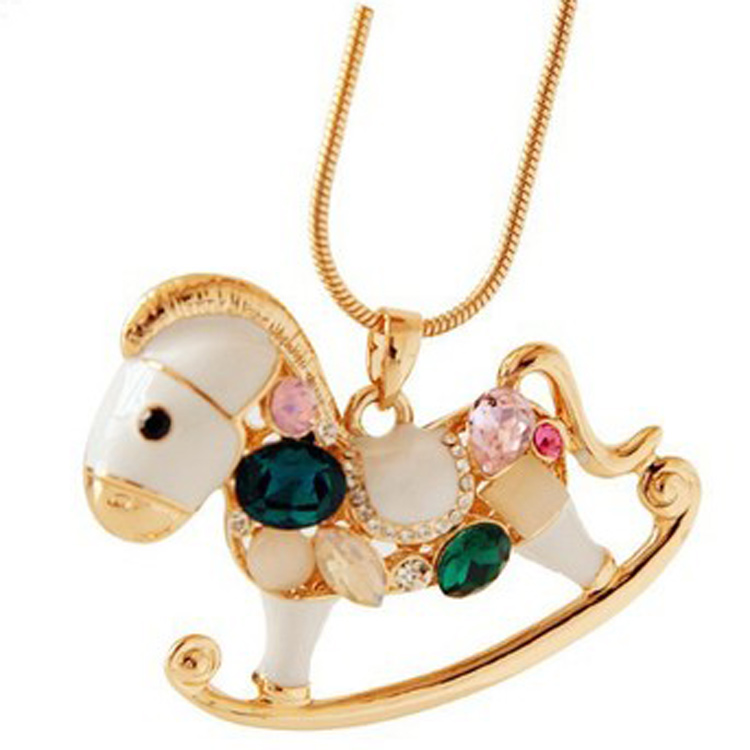 wholesale fashion costume horse jewelry pendant supplies china