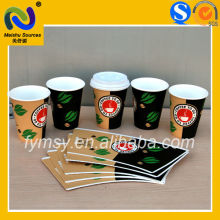SGS/QS Certificated Eco-Friendly PE Coated Paper Cup Fan