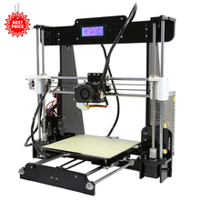 Business Opportunity Distributor Anet A8 3D DIY Printer Small Plastic Printing Machinery to Achieve Your Creative Dream