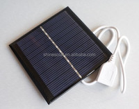 custom Round shape 0.25w 0.3w, 0.5w 0.6w mini solar panel charger battery for mobilephones mini toys