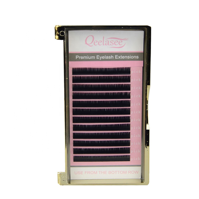 I/J/B/<strong>C</strong>/CC/D/D+/U/<strong>0</strong>/L/L+/LC/LD Faux Mink Eyelash Extension OEM/ODM Available