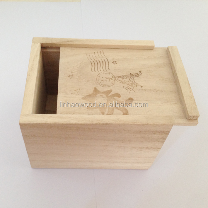 FSC Small wooden boxes wholesale/Cheap wooden boxes