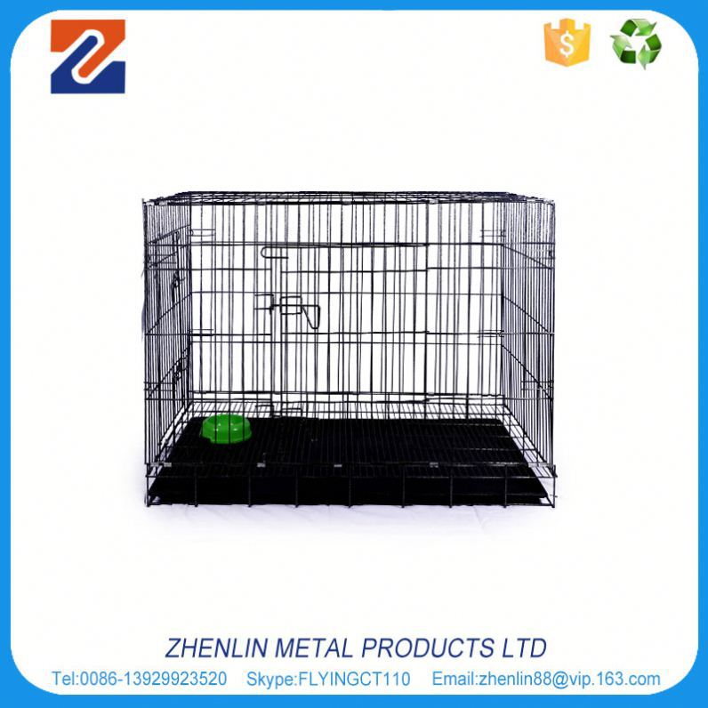 Alibaba china good quality large outdoor galvanised chain link dog cage