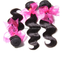 Hot !!!! Grade AAAAAA raw virgin brazilian human hair weave wholesale weave in new york