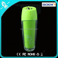 high quality external cylinder lipstick portable power bank station 2200mah for lenovo