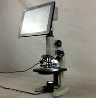 LCD screen educational training digital microscope