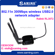 802.11n 300mbps Ralink 3072 chip wireless usb network adapter/ lan card