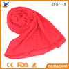 new style tudung from china voile material plain hijab scarf