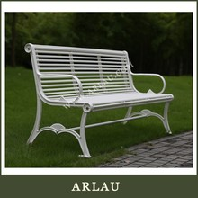 Arlau Casual Furniture,Outdoor Furniture Cast Iron Bench,Cast Iron Bench With Backrest