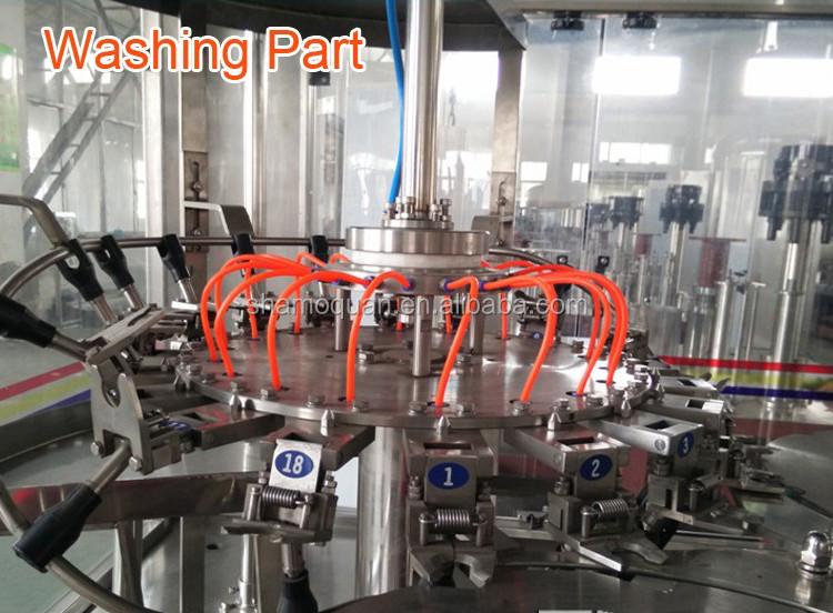Factory Certificated bottle drinking water packing line/bottle water manufacturing plant