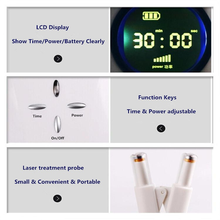 Good Effects Allergic Rhinitis Laser Treatment Instrument