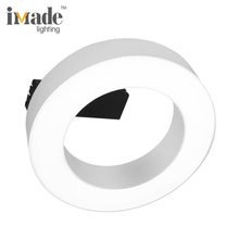 Contemporary circle ring 13w 25w tiltable smd led ceiling light new