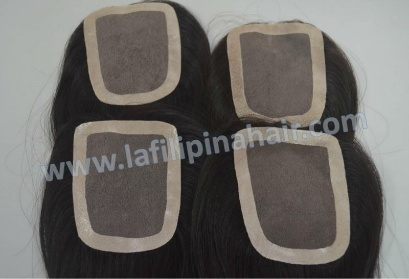 Pure remy Filipino hair straight, soft wave, wavy, tight curls natural color 3x4 human lace closure