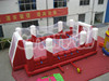 hot sale commercial grade inflatable football pitch arena