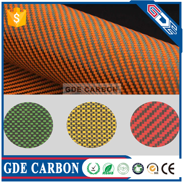 Dupont high quality Kevlar Carbon Aramid Fiber Ballistic Fabric for suit